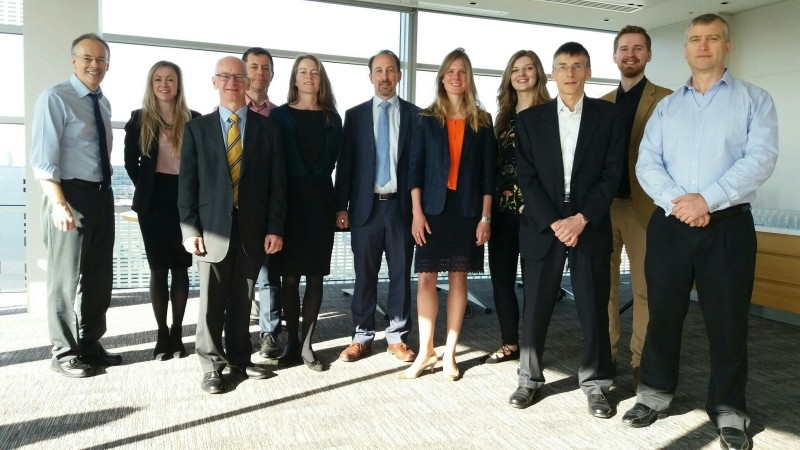 Strategic CO2 project team